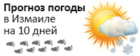 Погода в Измаиле на 10 дней